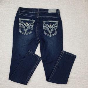 VGS Vigoss Dark Wash Skinny Jeans